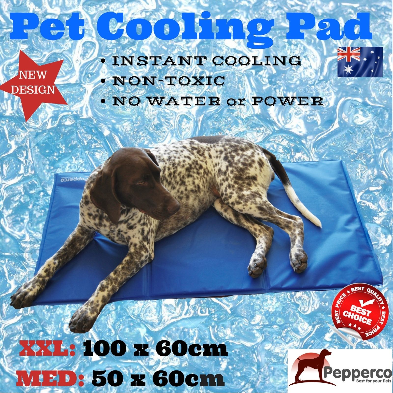 Dog Cooling Bed No Water